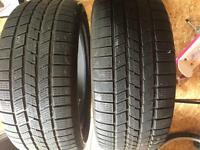 255/50/r19 ice/snow tires x2
