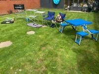 Camping bundle cooker gas etc