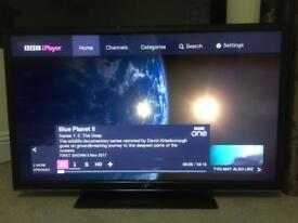 """40"""" JVC LED TV SLIMLINE USB Full HD 1080p Freeview CAN DELIVER"""