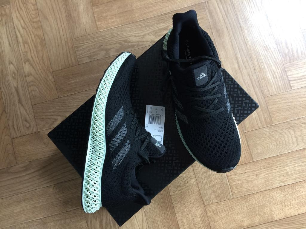 6d77362476f75 Adidas futurecraft 4D uk size 9 boxed new rare shoe