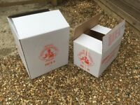 Sturdy Cardboard Boxes - 2 sizes - For Moving Home etc, Removal Services
