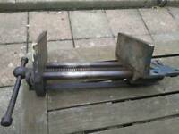 """Record 9"""" Woodwork Vice No 52 1/2 with quick release"""