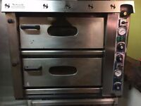 Newscan Pizza Master electric pizza oven