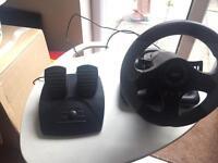 PlayStation or xbox steering wheel