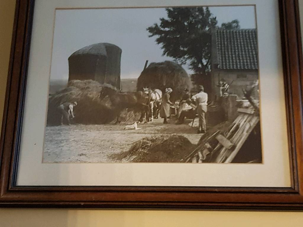 2 Whitby scene picturesin frames