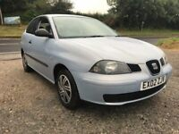 SEAT IBIZA S 1.2 3DR BLUE 2002