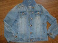Girls demin jacket