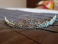 Silver tiara