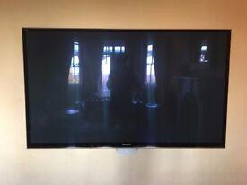 Very Large Plasma Flat Screen Panasonic TV