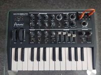 Arturia Microbrute Analog Synth in great condition with original box