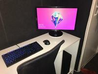 """Advent DT2111 Intel i5 Desktop PC w/ 23"""" Monitor, Mechanical Keyboard and Mouse"""