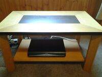 REAL WOOD COFFEE TABLE OR TV STAND ( GOOD QUALITY )