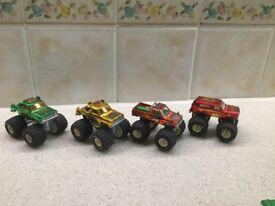 4 Mojorette Cars