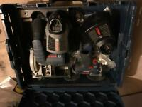 Bosch Battery Tools - Circular Saw, multi tool, sander, drill, jigsaw 10 batteries