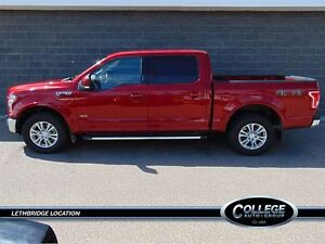 2016 Ford F-150 Lariat - Nav, Heated Seats, One Owner