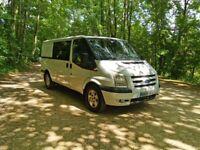 Ford, TRANSIT TREND 115 BHP, Panel Van Crew Cab, 2009, Ideal camper van conversion