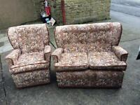 Cottage suite 2 seater and chair