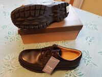 CLARKS Sidmouth Key Mens leather shoes size 10H