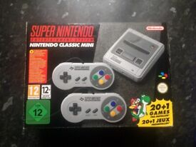 Super Nintendo mini system