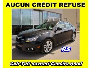 2014 Chevrolet Cruze RS CUIR *TOIT OUVRANT* CAMERA RECUL *SIEGES