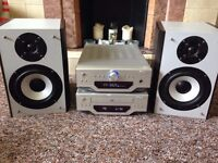 Goodmans X-Pro Higher End Bookshelf Speakers. Rear Ported. IMMACULATE! GREAT SOUND! Amps not include