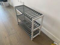 Shoe Rack/3-Tier Storage Shelf