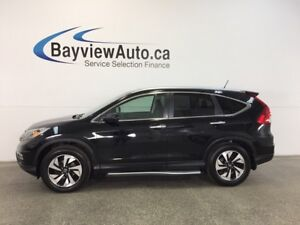 2015 Honda CR-V TOURING- AWD|SUNROOF|HTD LTHR|NAV|ACC|REV CAM!