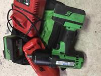 Snap on impact wrench 18v