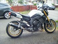 YAMAHA FZ8 2012 MODEL 800CC IMMACULATE CONDITION MOT AND TAX