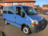 RENAULT MASTER SL28 DCI-100 WHEEL CHAIR 8 SEATER BUS 😁