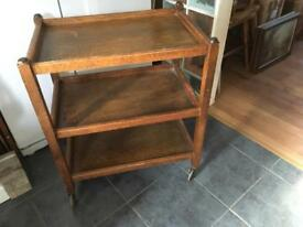 LOVELY VINTAGE THREE TIER TEA TROLLEY - CAN DELIVER