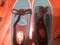 Blue Vans Men US 6 (UK 5.5)