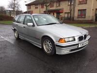 1999 BMW 323i SE E36 touring auto silver quick sale