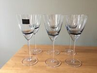 Betty Jackson From Debenhams wine glasses x6