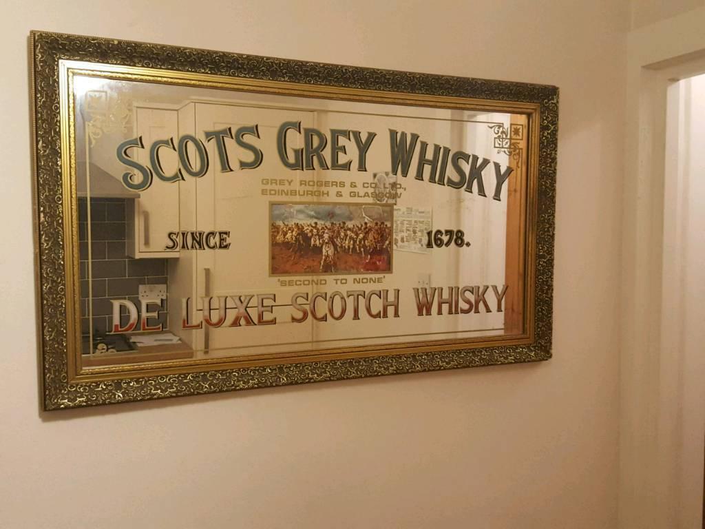 Scots Grey Whisky Large Vintage Pub