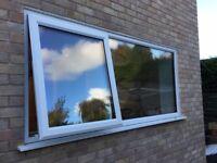 NEW white triple glazed uPVC window 1170 x 2400mm