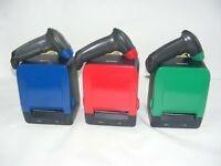 Colourful Thermal Receipt Printer with mathcing Barcode Scanner both USB