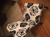 Fabric pardon chairs