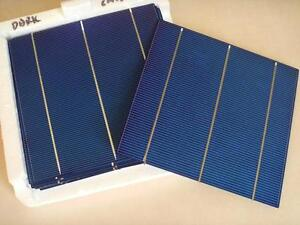 """Solar Cell 6"""" x 6"""" poly for sale make your own solar panels"""