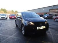 SEAT MII 1.0 75 Mii by Mango 5dr (black) 2016