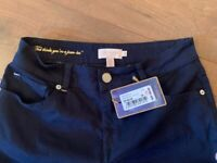 Ted Baker Navy Skinny Jeans Size 30