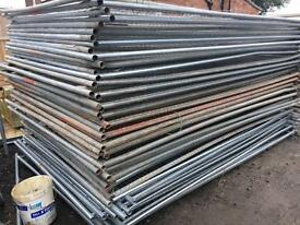 Used Heras Style Security Fence Panels 🔩
