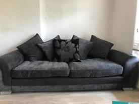 Large 4 Seater DSF sofa