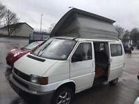 Volkswagen transporter t4 camper van professional conversion full side kitchen rock roller bed