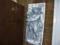 garden wall plaques