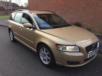 VOLVO V50 ESTATE 2007 FSH ONE PREVIOUS OWNER