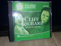 "KARAOKE CDG DISC-""HITS OF CLIFF RICHARD"""