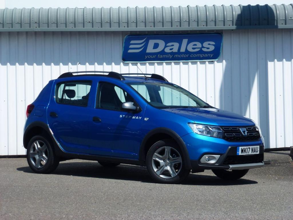 dacia sandero stepway 1 5 dci laureate 5dr azurite blue 2017 in newquay cornwall gumtree. Black Bedroom Furniture Sets. Home Design Ideas