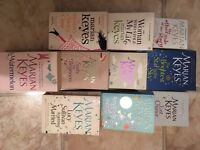 Selection of Marian Keyes chick lit books