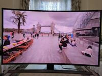 SAMSUNG 48 INCH 4K SMART WIFI CURVED SUHD 3D TV (BOXED)